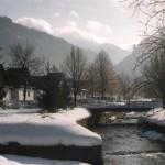 Jánošíkova ulica v zime