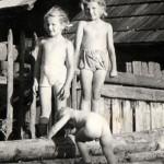 Deti pri plote