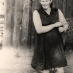 Žena s košíkom