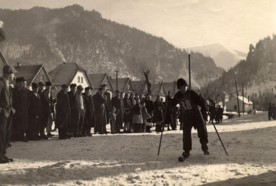 Preteky na lyžiach