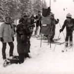 Malí lyžiari