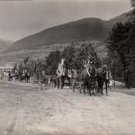 Konský vozový sprievod počas Jánošíkových dní