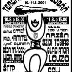Terchovský budzogáň 2001 - plagát