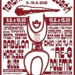 Terchovský budzogáň 2002 - plagát