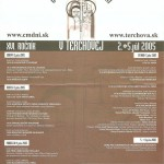 Cyrilometodské dni 2005 - plagát