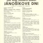 Jánošíkove dni 1990 - plagát
