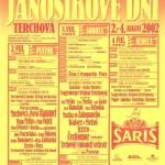Jánošíkove dni 2002 - plagát