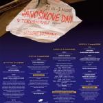 Jánošíkove dni 2008 - plagát