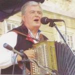 Vilo Meško s heligónkou