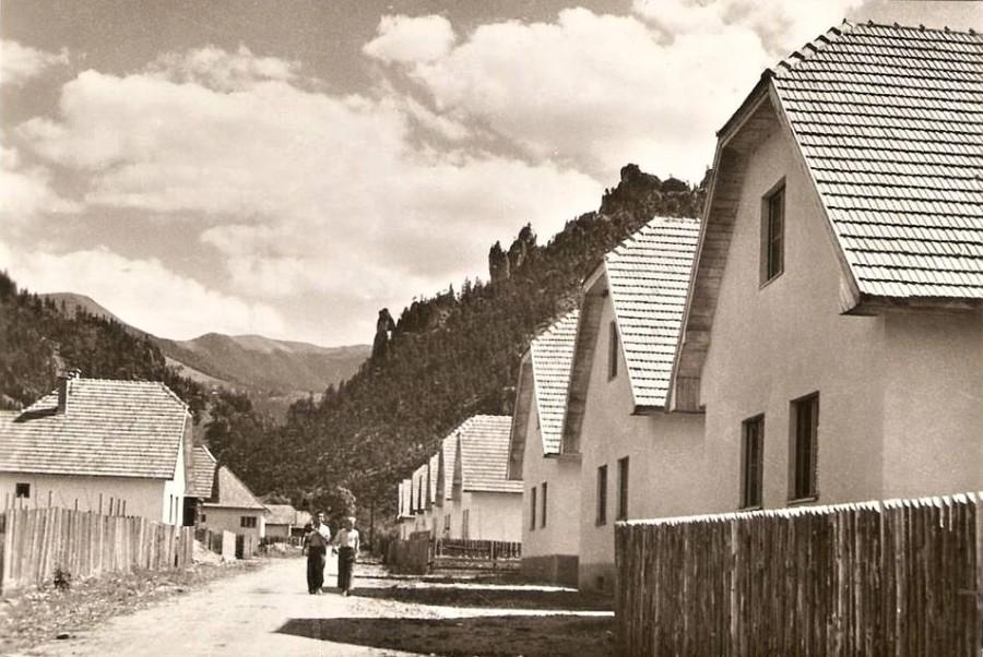 Dnešná Májová ulica