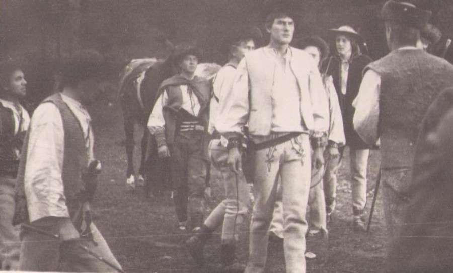 Jánošík so zbojníkmi