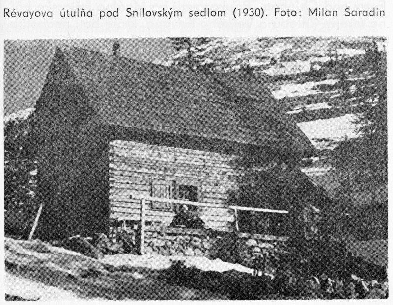 Révayova útulňa pod Snilovským sedlom