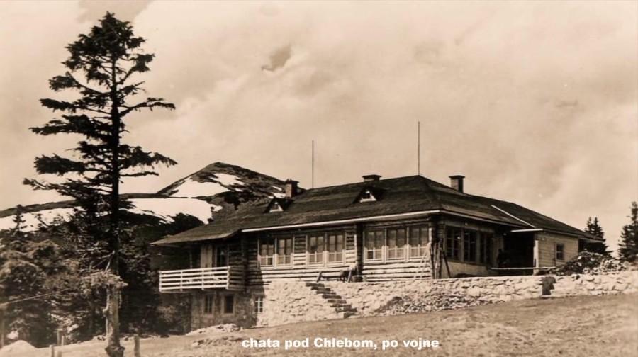 Chata pod Chlebom po vojne